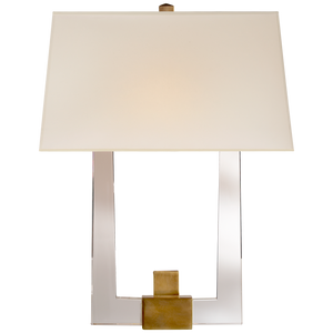 Edwin Double Arm Sconce by Visual Comfort