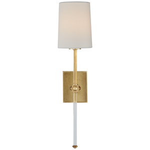 Lucia Medium Tail Sconce by Visual Comfort