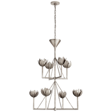 Load image into Gallery viewer, Alberto Medium Two Tier Chandelier