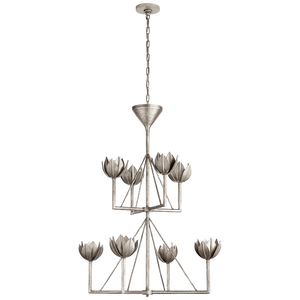 Alberto Medium Two Tier Chandelier