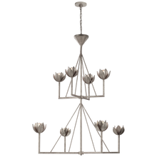 Load image into Gallery viewer, Alberto Large Two Tier Chandelier