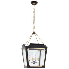 Load image into Gallery viewer, Caddo Medium Lantern by Visual Comfort