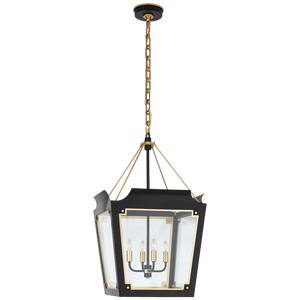 Caddo Medium Lantern by Visual Comfort