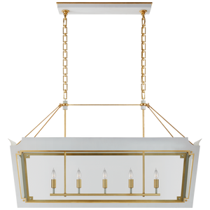 Caddo Medium Linear Lantern by Visual Comfort