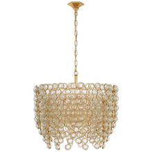 Load image into Gallery viewer, Milazzo Medium Waterfall Chandelier by Visual Comfort