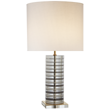 Load image into Gallery viewer, Grayson Stacked Table Lamp by Kate Spade New york