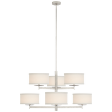 Load image into Gallery viewer, Walker Medium Two Tier Chandelier by Visual Comfort