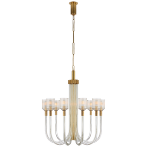 Reverie Medium Single Tier Chandelier by Visual Comfort