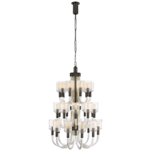 Load image into Gallery viewer, Reverie Large Three-Tier Chandelier by Visual Comfort