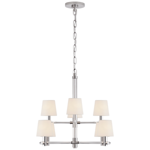 Sable Small Chandelier by Visual Comfort