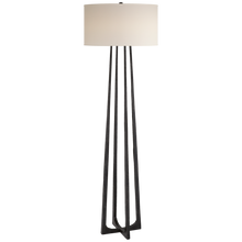 Load image into Gallery viewer, Scala Large Hand-Forged Floor Lamp by Visual Comfort