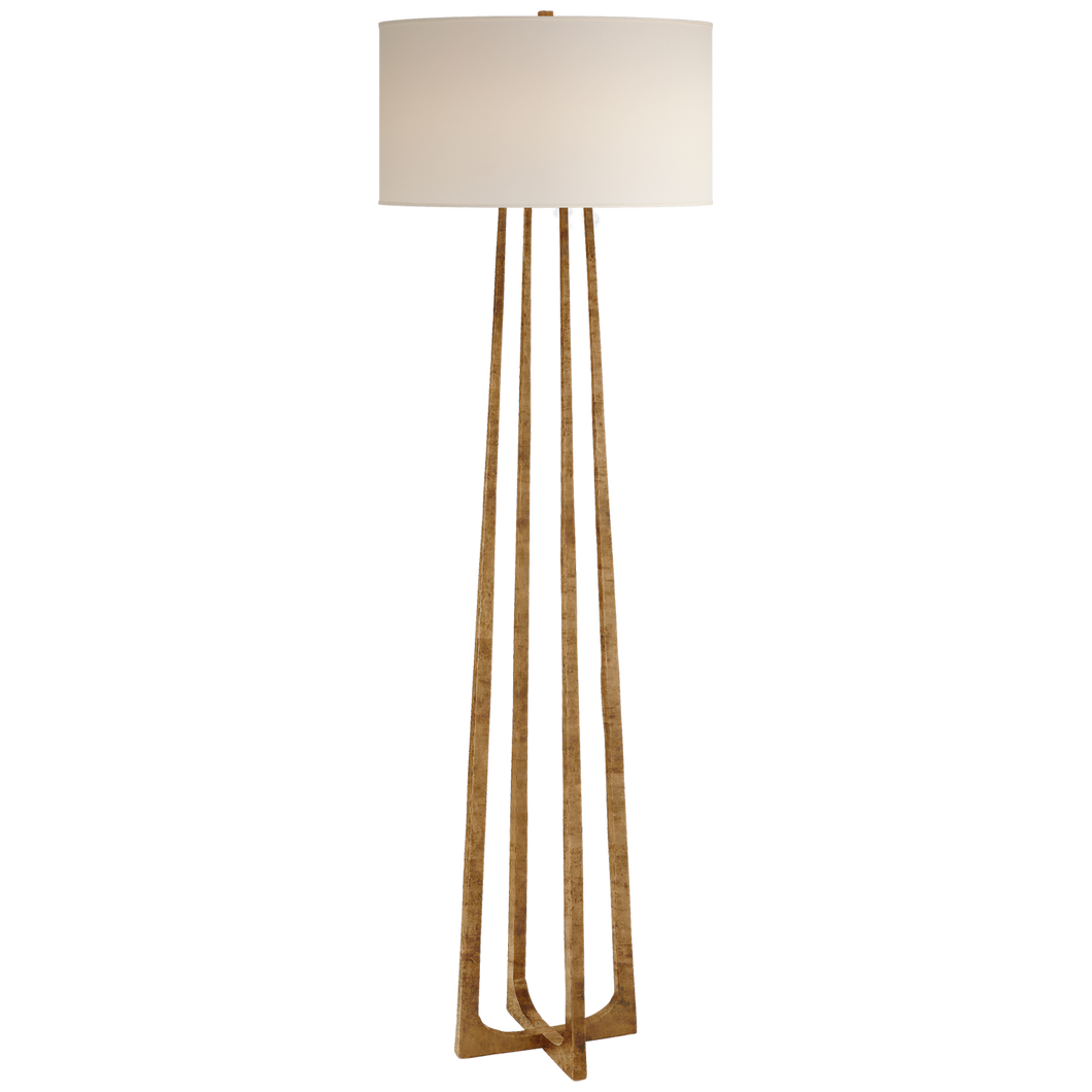 Scala Large Hand-Forged Floor Lamp by Visual Comfort