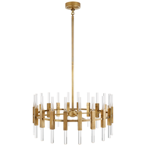 Palomar Small Rotating Chandelier by Visual Comfort