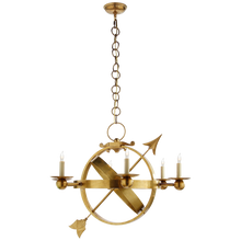 Load image into Gallery viewer, Armillary Sphere Chandelier by Visual Comfort