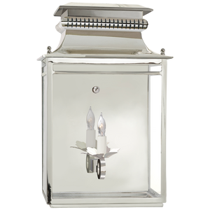Flea Market Lantern Wall Sconce by Visual Comfort