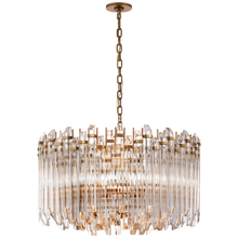 Load image into Gallery viewer, Adele Large Wide Drum Chandelier by Visual Comfort