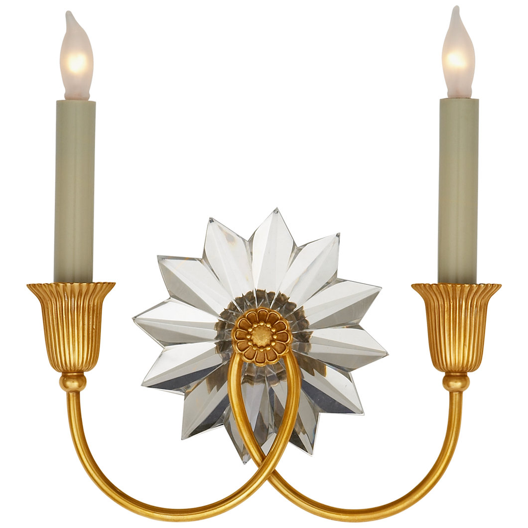 Huntingdon Double Sconce by Visual Comfort