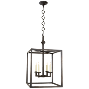 Star Lantern in Aged Iron by Visual Comfort