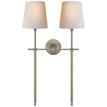 Load image into Gallery viewer, Bryant Large Double Tail Sconce by Visual Comfort