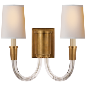 Vivian Double Sconce by Visual Comfort