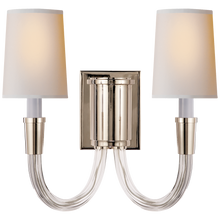Load image into Gallery viewer, Vivian Double Sconce by Visual Comfort
