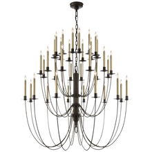 Load image into Gallery viewer, Erika Three-Tier Chandelier by Thomas O'Brien