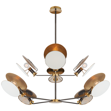 Osiris Large Reflector Chandelier by Visual Comfort
