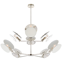 Load image into Gallery viewer, Osiris Large Reflector Chandelier by Visual Comfort