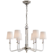 Load image into Gallery viewer, Bennett Six Arm Chandelier by Visual Comfort