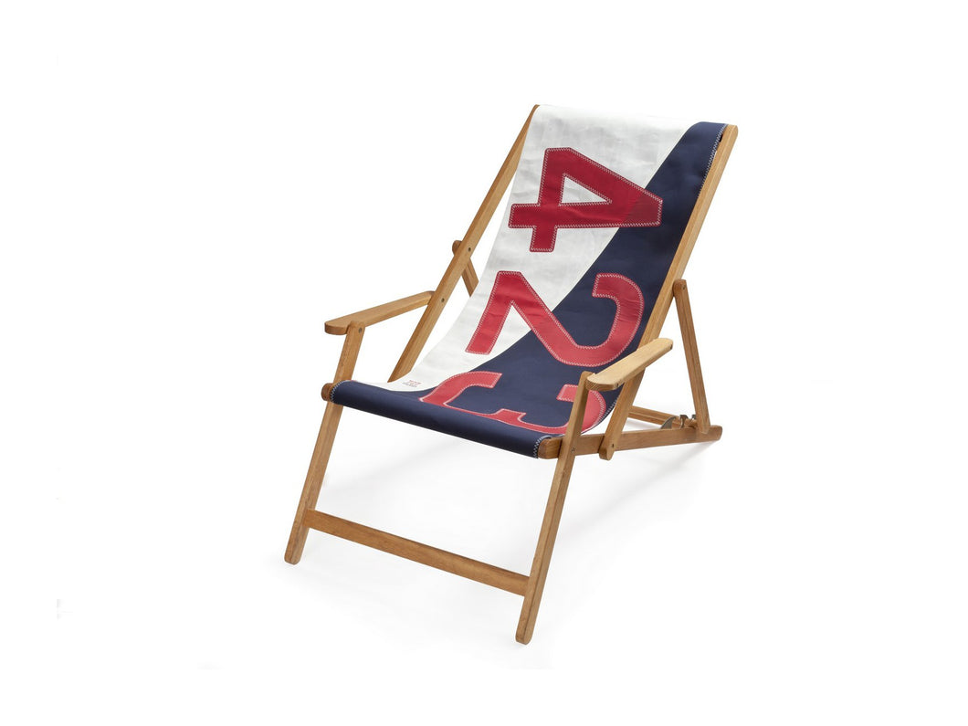 RED/WHITE/BLUE Deck Chair