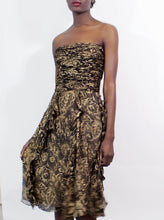 Load image into Gallery viewer, Ralph Lauren Black Label Floral Dress