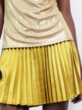 Load image into Gallery viewer, High Waisted Pleated Skirt