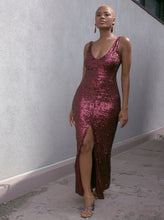 Load image into Gallery viewer, BCBG Sequin Gown