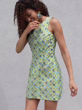 Load image into Gallery viewer, 60s Print Short Dress