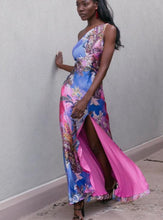 Load image into Gallery viewer, Multicolor High Slit Gown