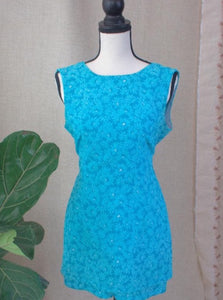 60s GoGo Dress With Jumpsuit