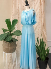 Load image into Gallery viewer, Blue Vintage Gown