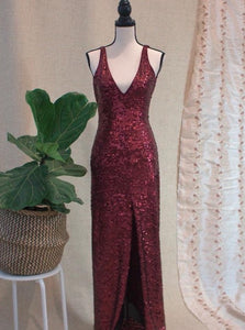 BCBG Sequin Gown
