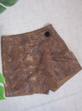 Load image into Gallery viewer, Gold Leopard Skort