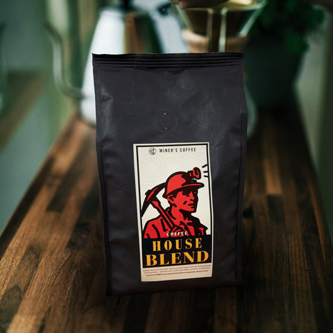 House Blend Kaffee - Miners Coffee 500 g image