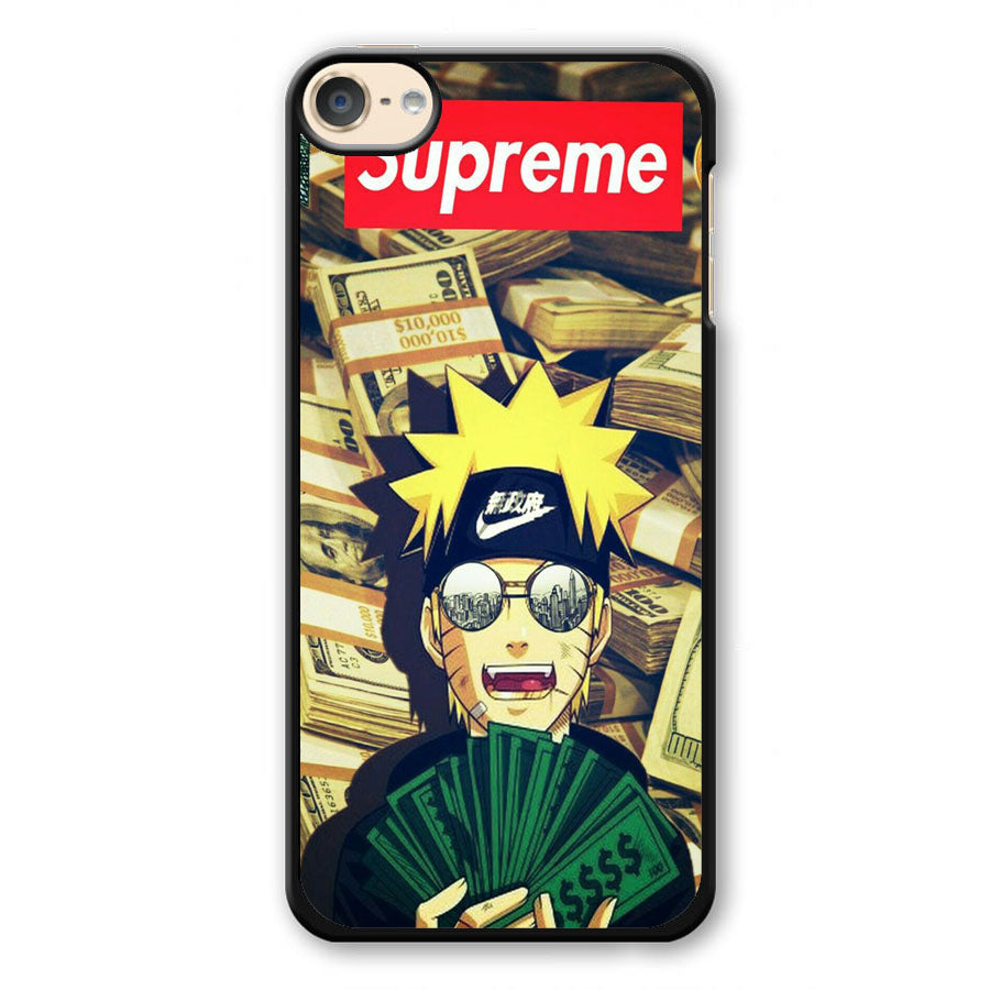 the latest 53914 61ca9 Nike Naruto Supreme iPod Touch 6 3D Case