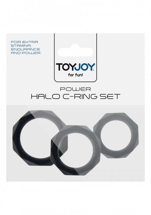 Power Halo C-Ring Set - Penisrenkaat