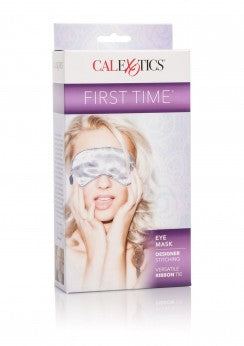 1st Time Fetish Satin Eye Mask - Naamio