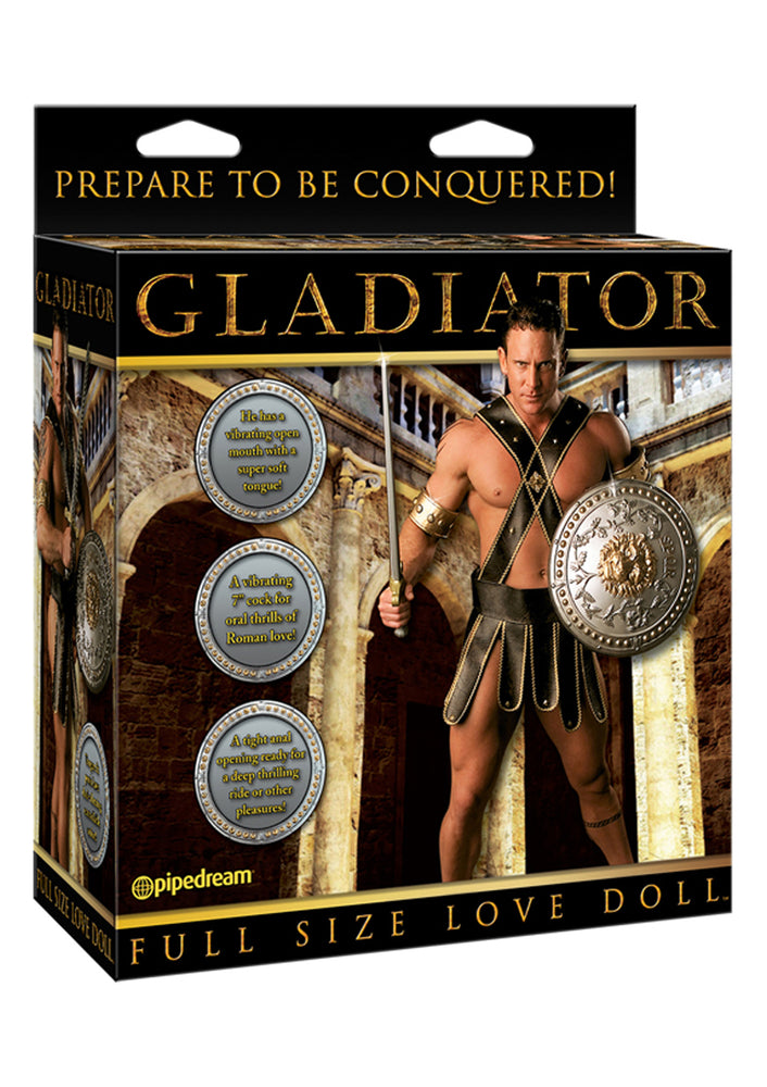 Gladiator Vibrating Doll - Seksinukke