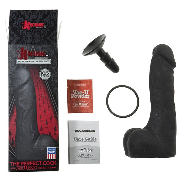 The Perfect Cock - Dildo 25cm - Termoplastinen muovi - Vac U Lock