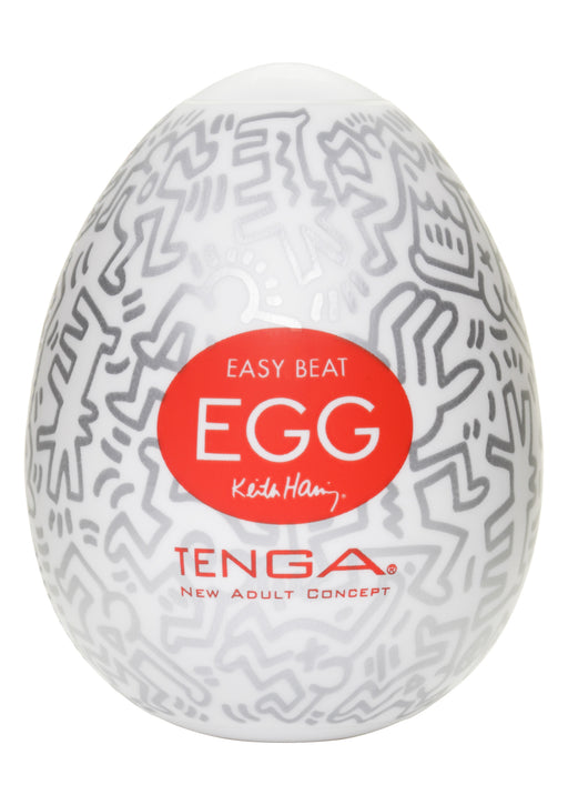 Keith Haring Egg Party (6kpl) - Masturbaattori