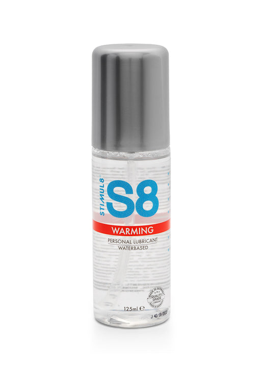 S8 Warming WB Lube 125ml - Liukuvoide