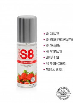 S8 Flavored Lube 125ml - Liukuvoide
