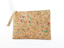 Load image into Gallery viewer, Cork Clutch Rainbow (Large)