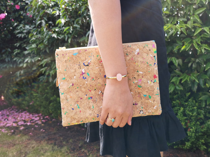 Cork Clutch Rainbow (Large)